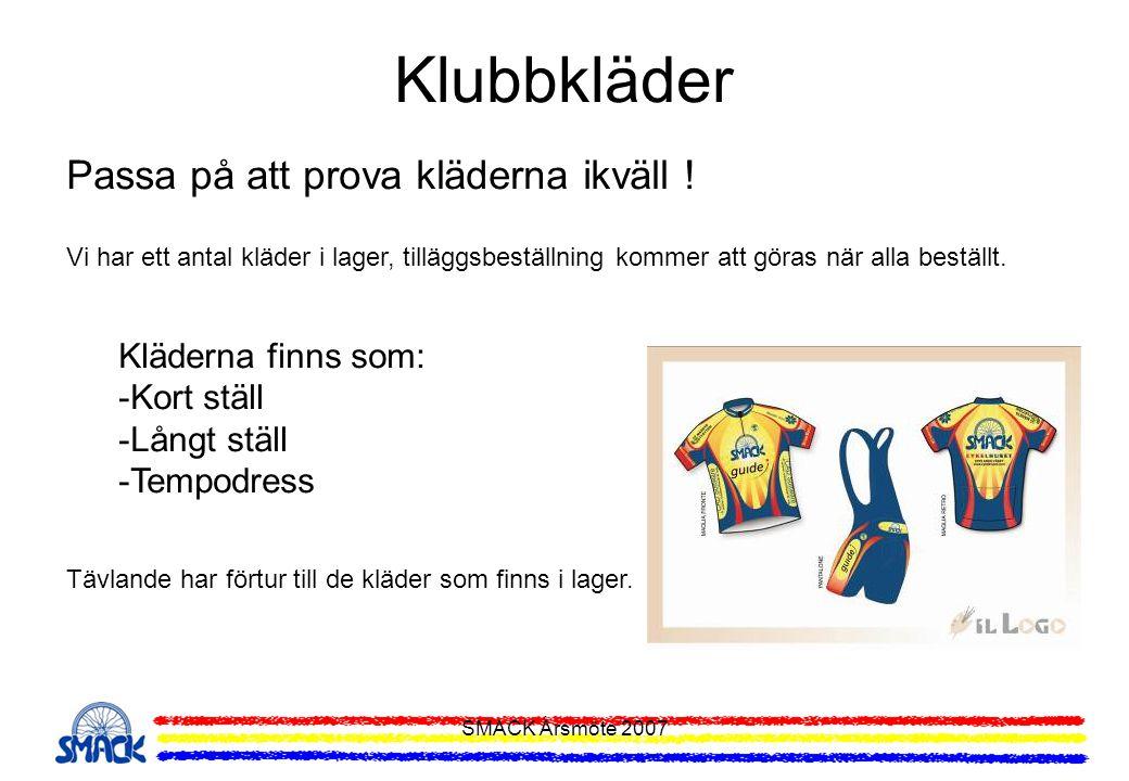 Klubbkläder Passa på att prova kläderna ikväll ! Kläderna finns som: