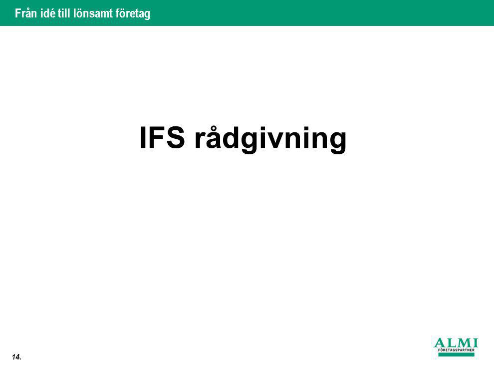 IFS rådgivning 14