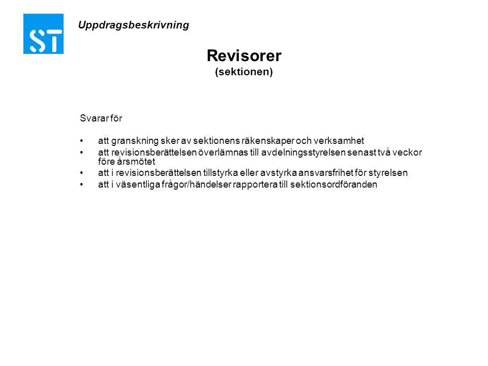 Revisorer (sektionen)