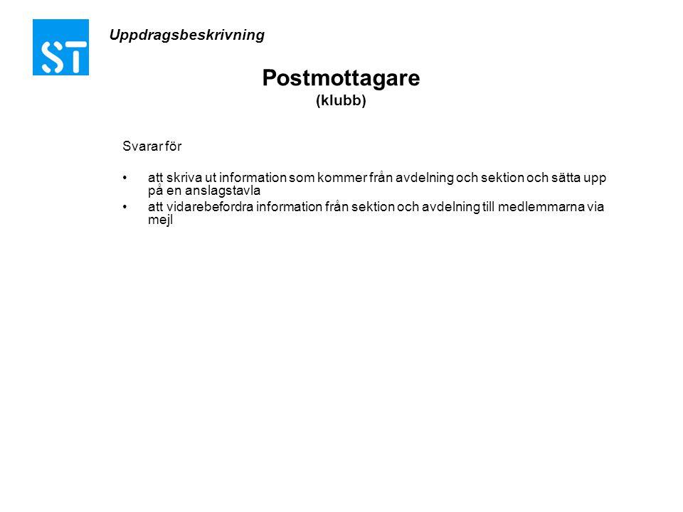 Postmottagare (klubb)