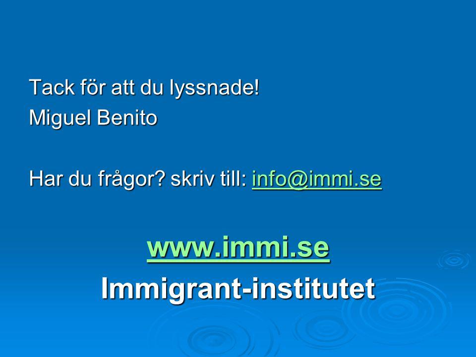 Immigrant-institutet