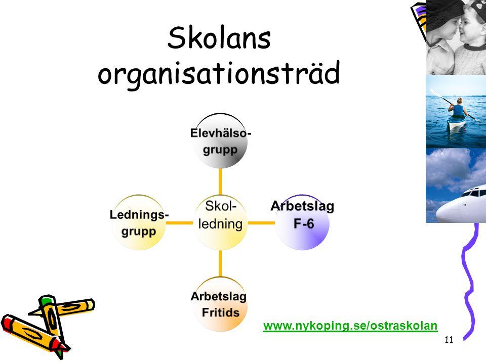 Skolans organisationsträd