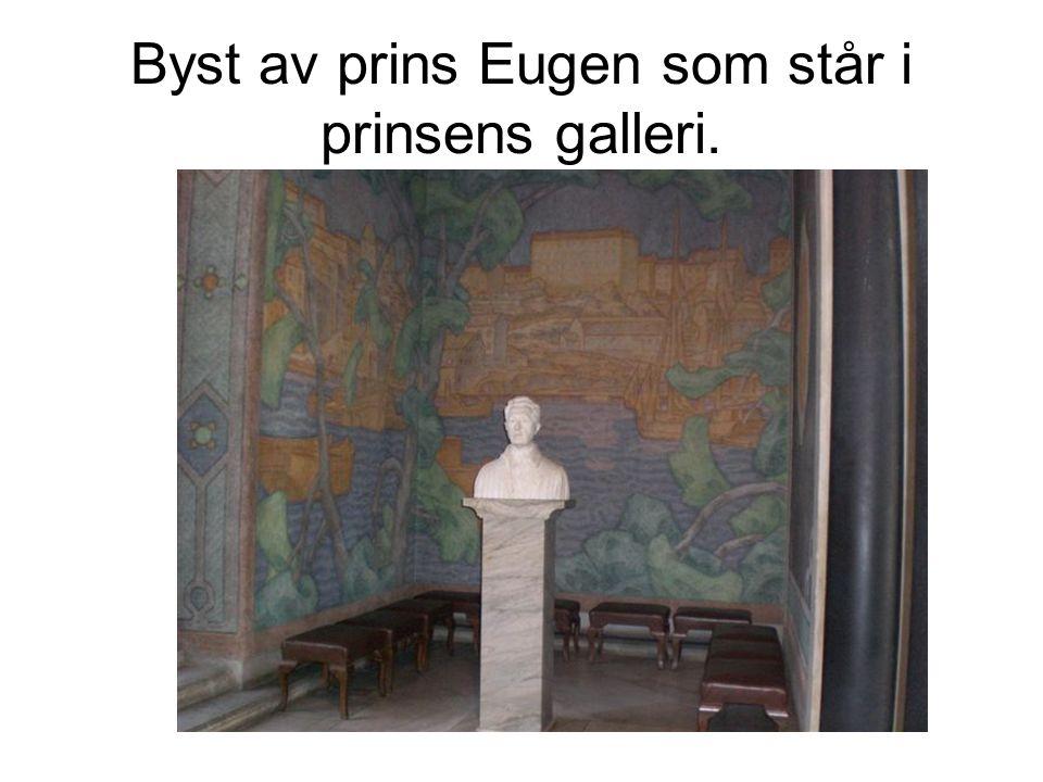 Byst av prins Eugen som står i prinsens galleri.