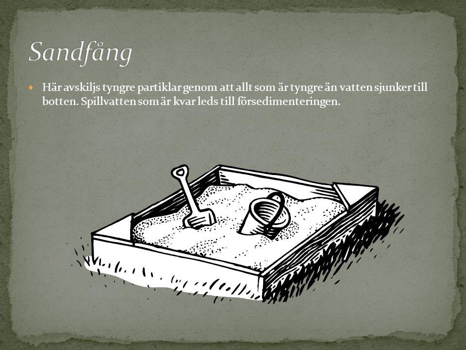 Sandfång