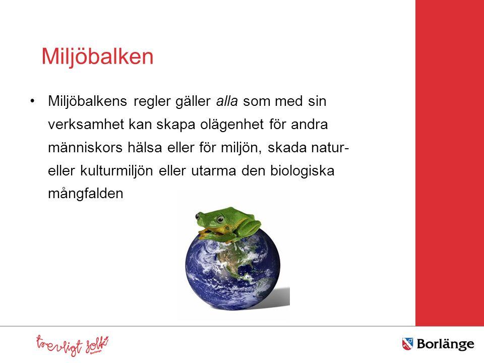 Miljöbalken