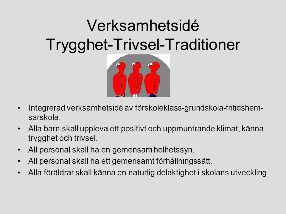 Verksamhetsidé Trygghet-Trivsel-Traditioner