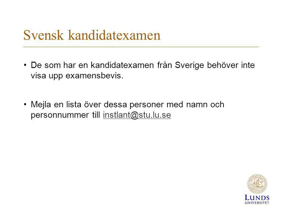 Svensk kandidatexamen