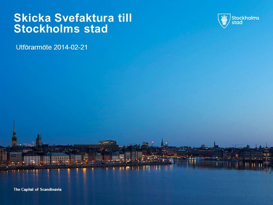 Skicka Svefaktura till Stockholms stad