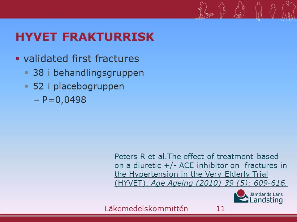 HYVET frakturrisk validated first fractures 38 i behandlingsgruppen
