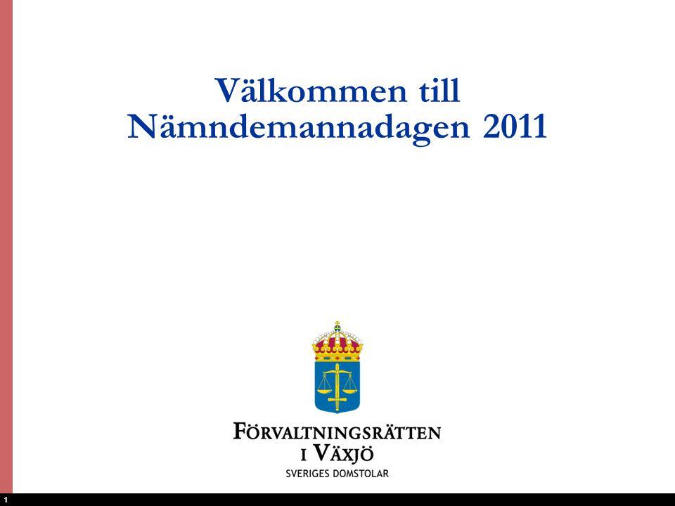 Välkommen till Nämndemannadagen 2011