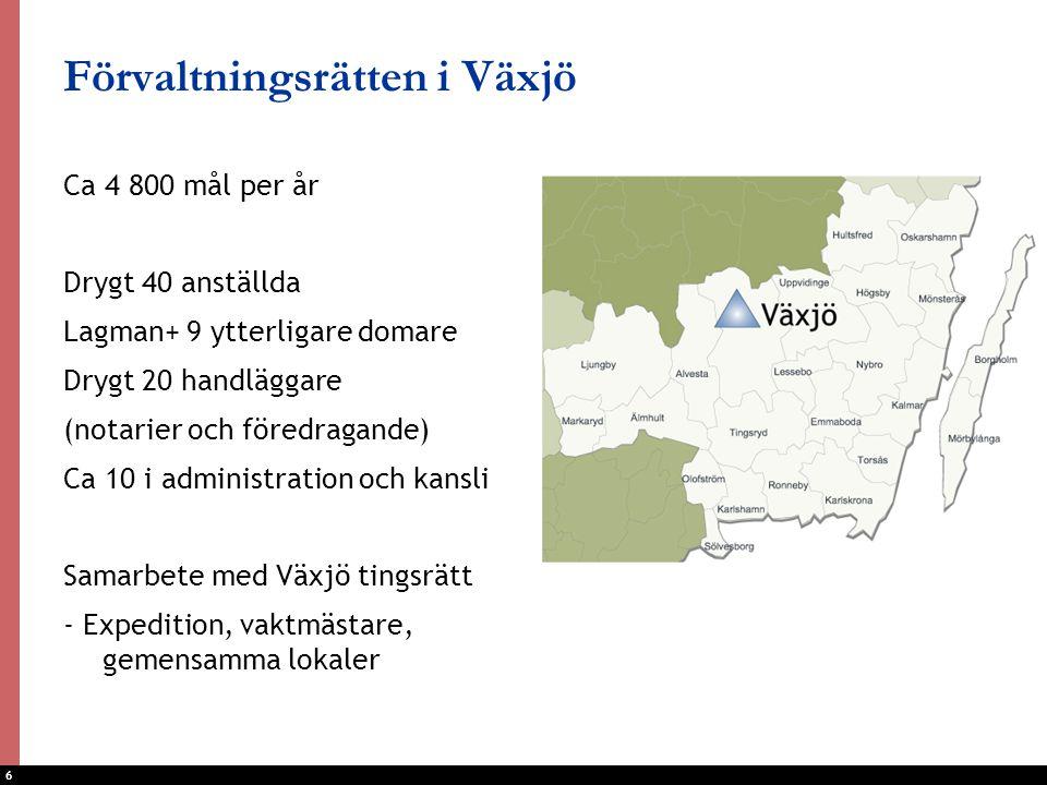 Förvaltningsrätten i Växjö