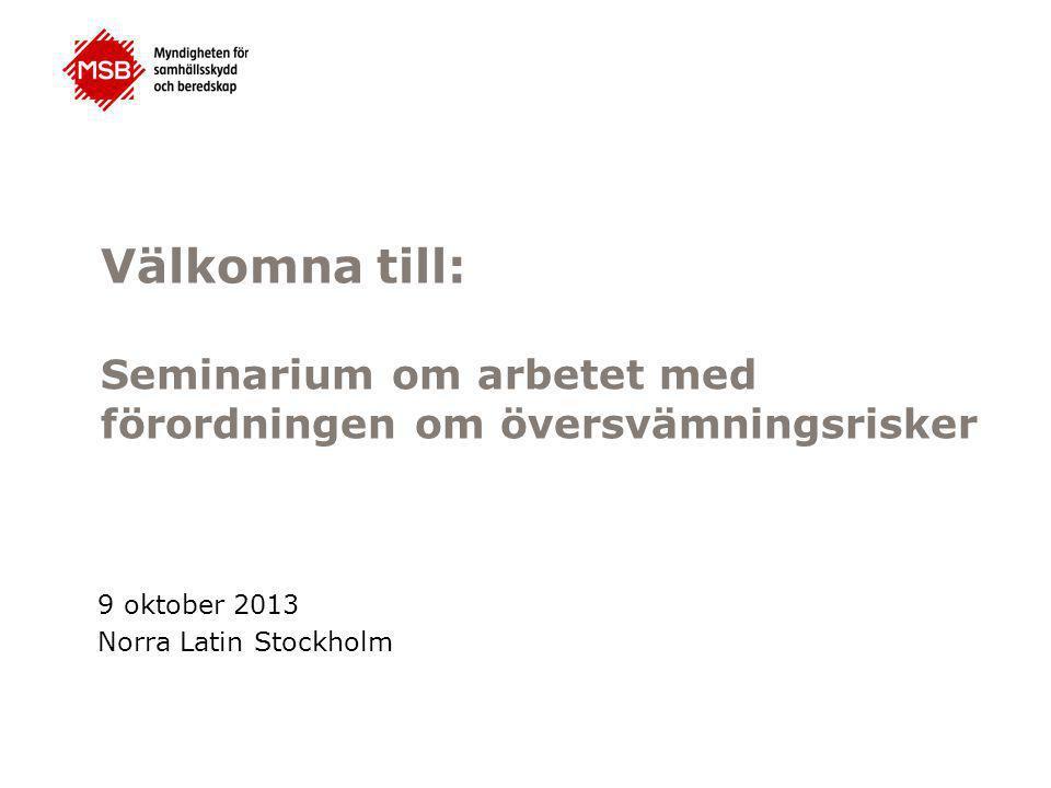 9 oktober 2013 Norra Latin Stockholm