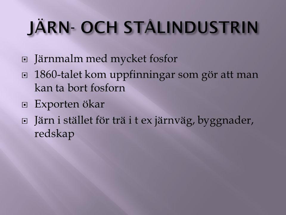 Järn- och stålindustrin
