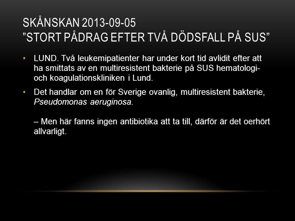 Skånskan 2013-09-05 Stort pådrag efter två dödsfall på Sus
