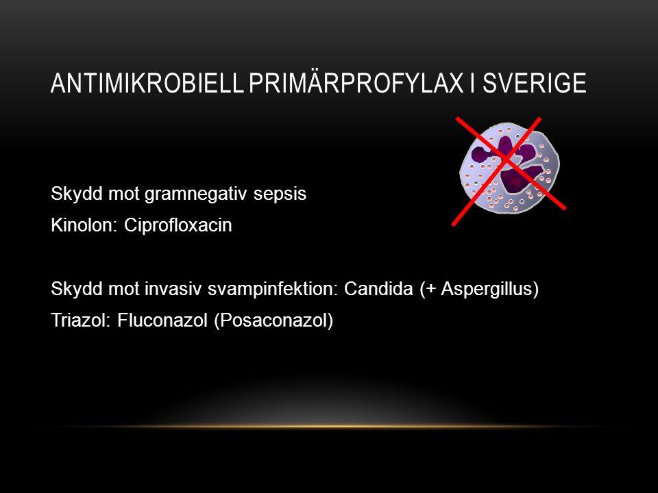 Antimikrobiell primärprofylax i sverige