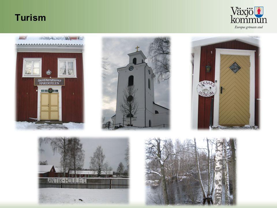 Turism Inom turism, så har vi tex. Öja hembygdsgård, med både Pär Lagerkvistsrum och Leksaks museum.