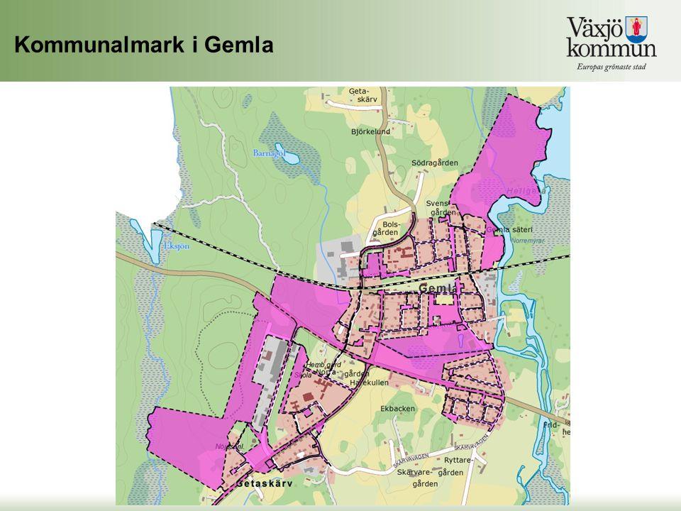 Kommunalmark i Gemla Kommunalmark i Gemla