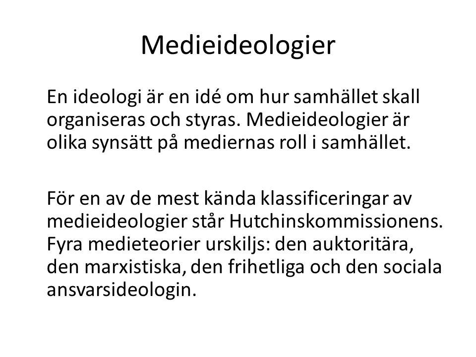 Medieideologier