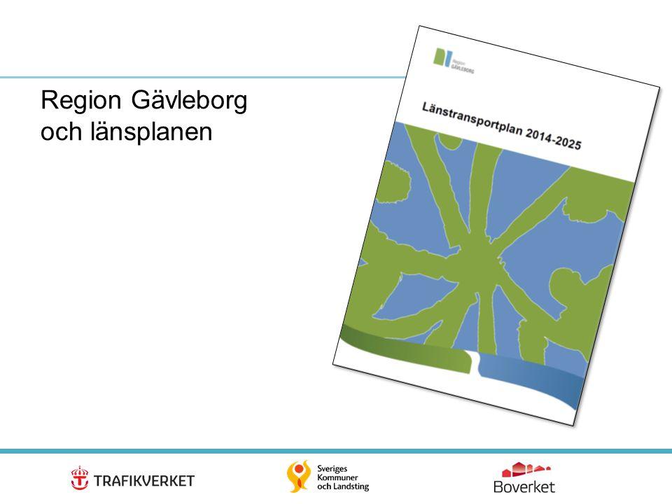 Region Gävleborg och länsplanen