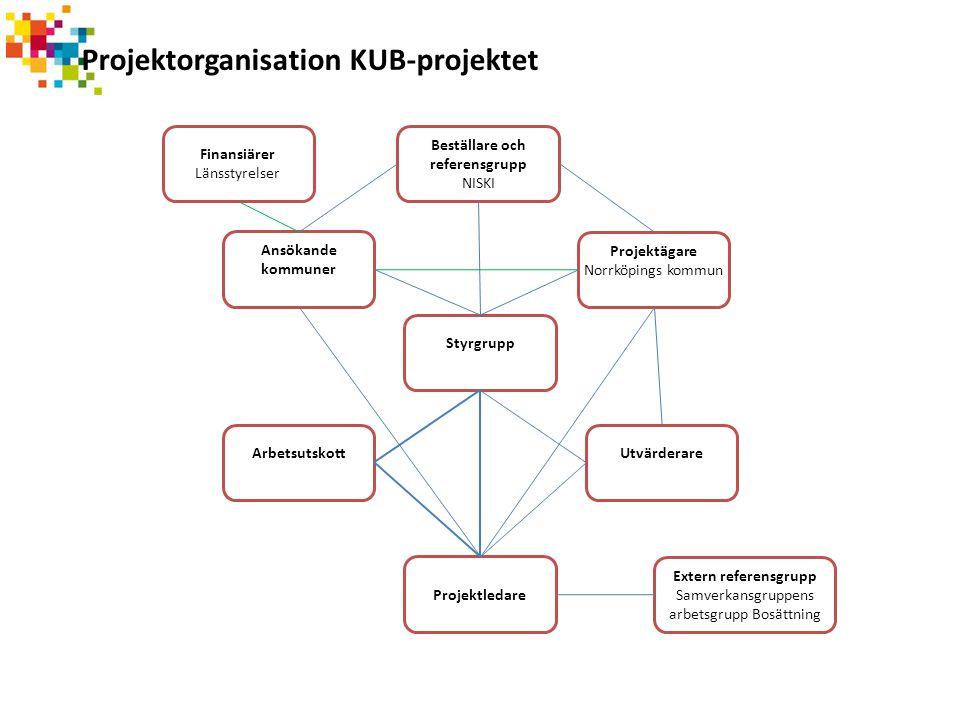 Projektorganisation KUB-projektet