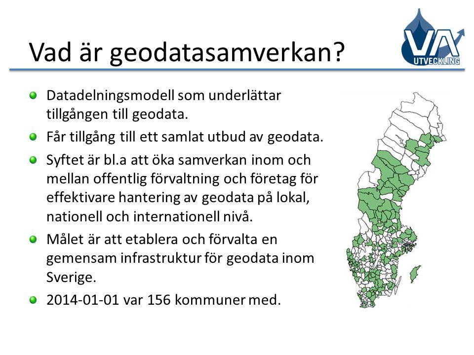 Vad är geodatasamverkan