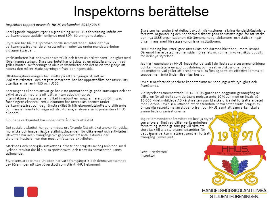Inspektorns berättelse