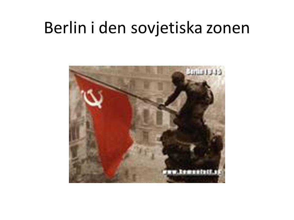 Berlin i den sovjetiska zonen