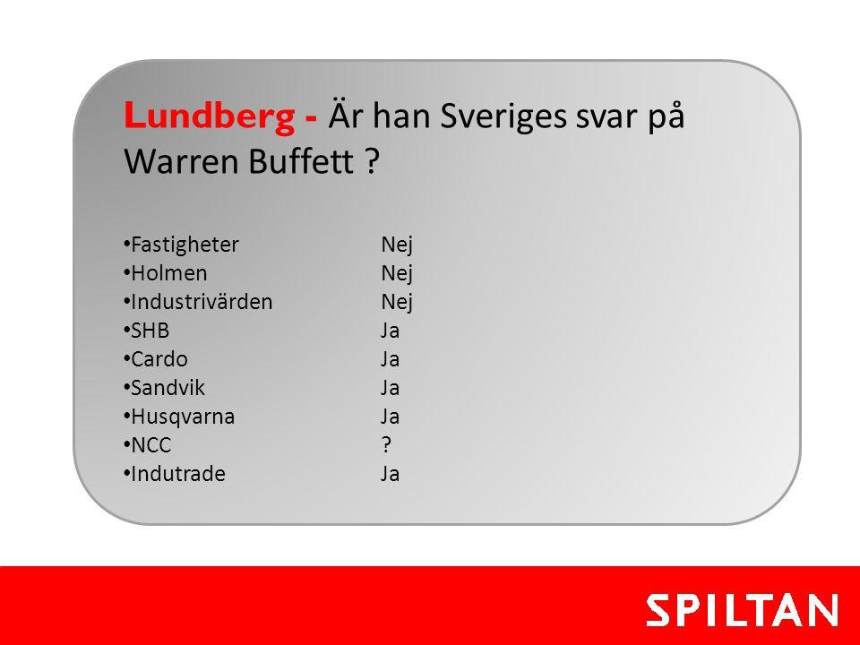 Lundberg - Är han Sveriges svar på Warren Buffett