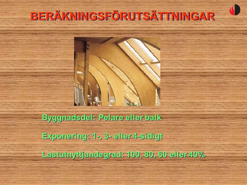 BERÄKNINGSFÖRUTSÄTTNINGAR