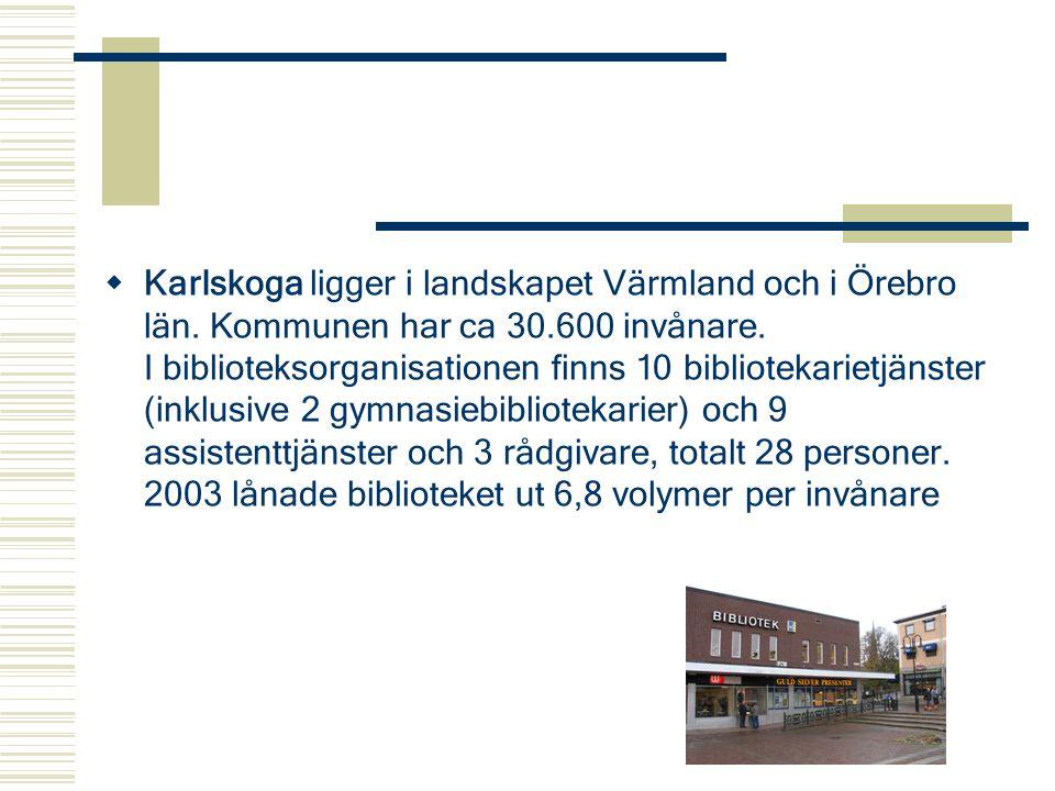 Karlskoga ligger i landskapet Värmland och i Örebro län