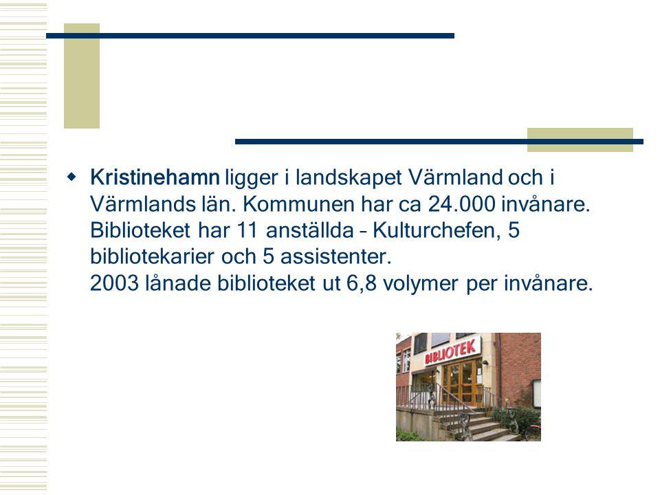 Kristinehamn ligger i landskapet Värmland och i Värmlands län