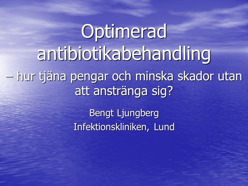 Bengt Ljungberg Infektionskliniken, Lund