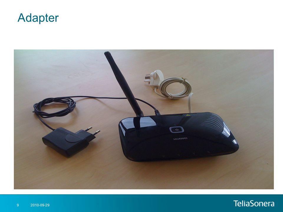 Adapter 2010-09-29