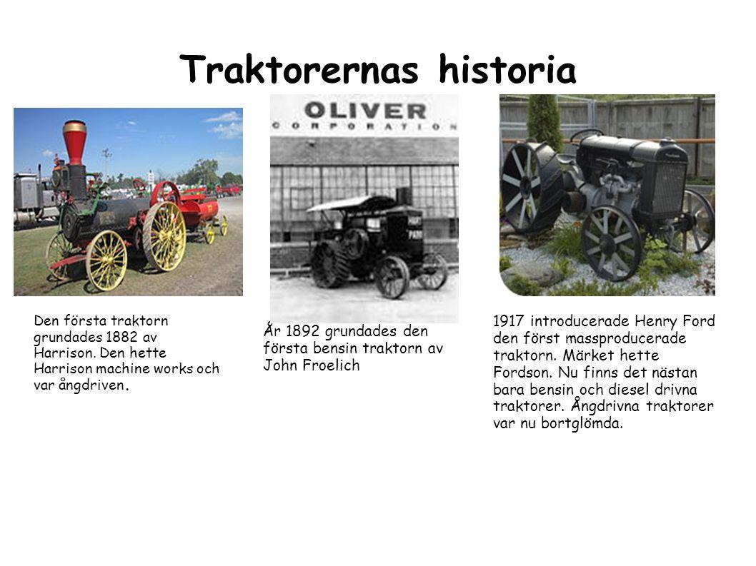 Traktorernas historia
