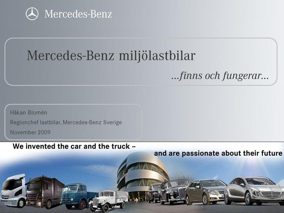 Mercedes-Benz miljölastbilar
