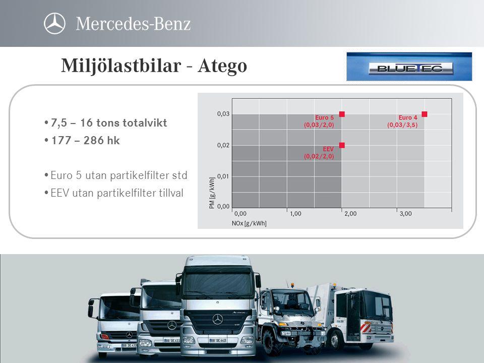 Miljölastbilar - Atego