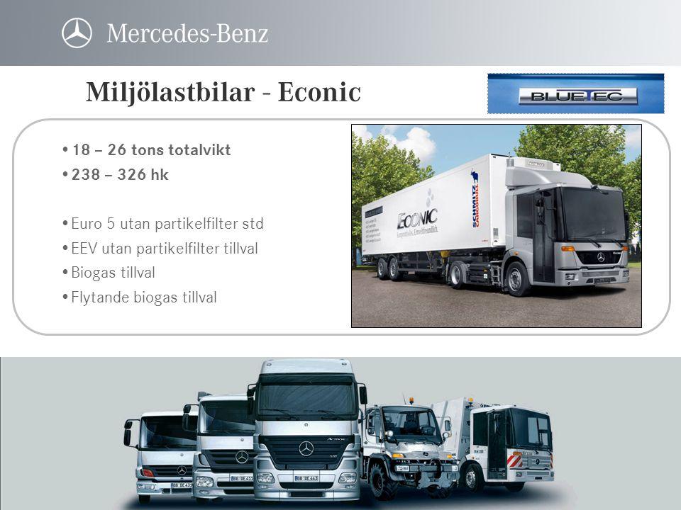 Miljölastbilar - Econic