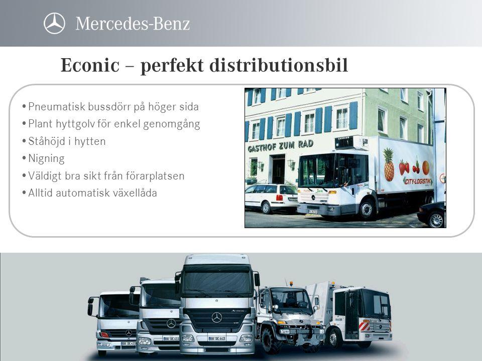 Econic – perfekt distributionsbil