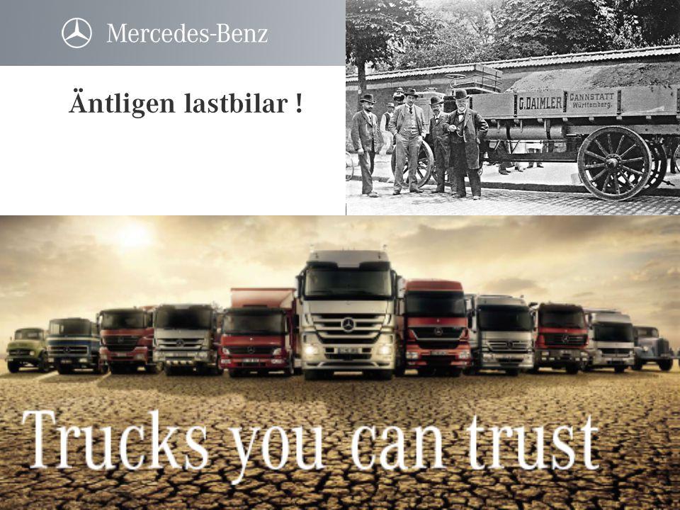 Äntligen lastbilar !