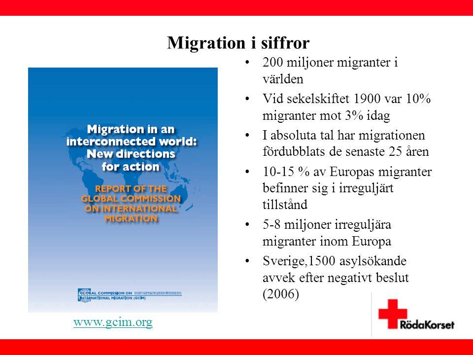 Migration i siffror 200 miljoner migranter i världen