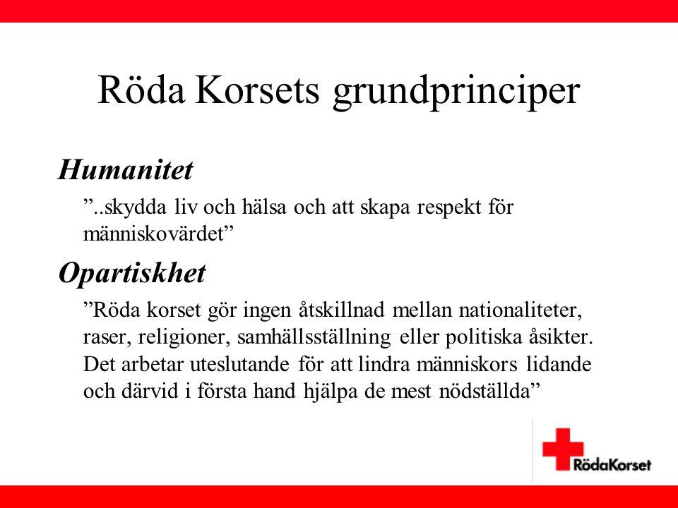 Röda Korsets grundprinciper