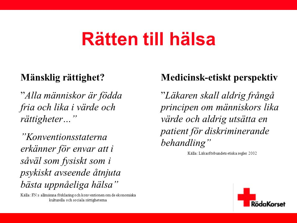Källa: Läkarförbundets etiska regler 2002