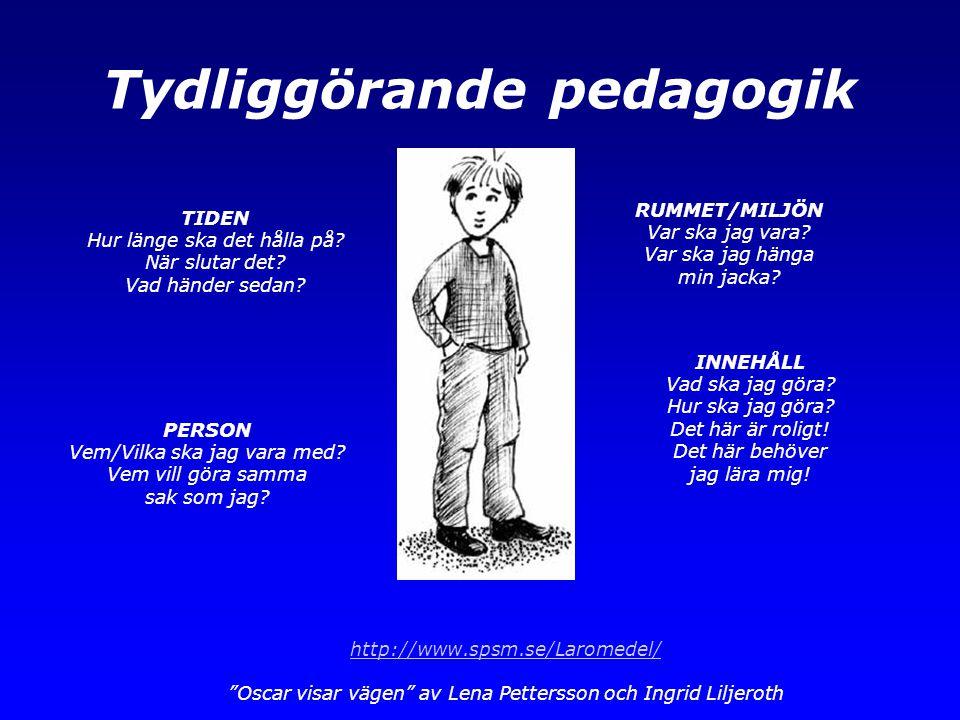 Tydliggörande pedagogik