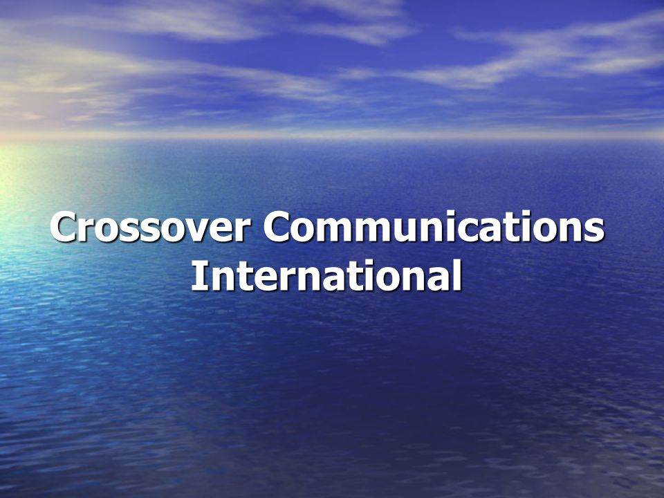 Crossover Communications International