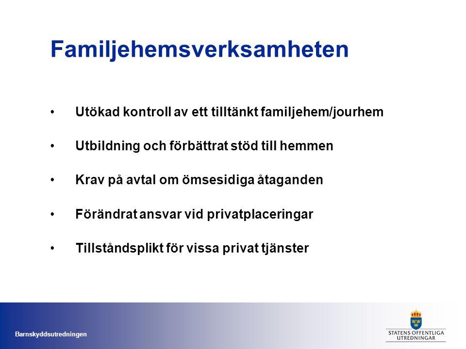 Familjehemsverksamheten
