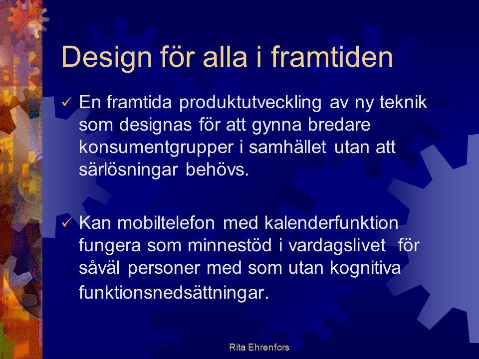 Design för alla i framtiden