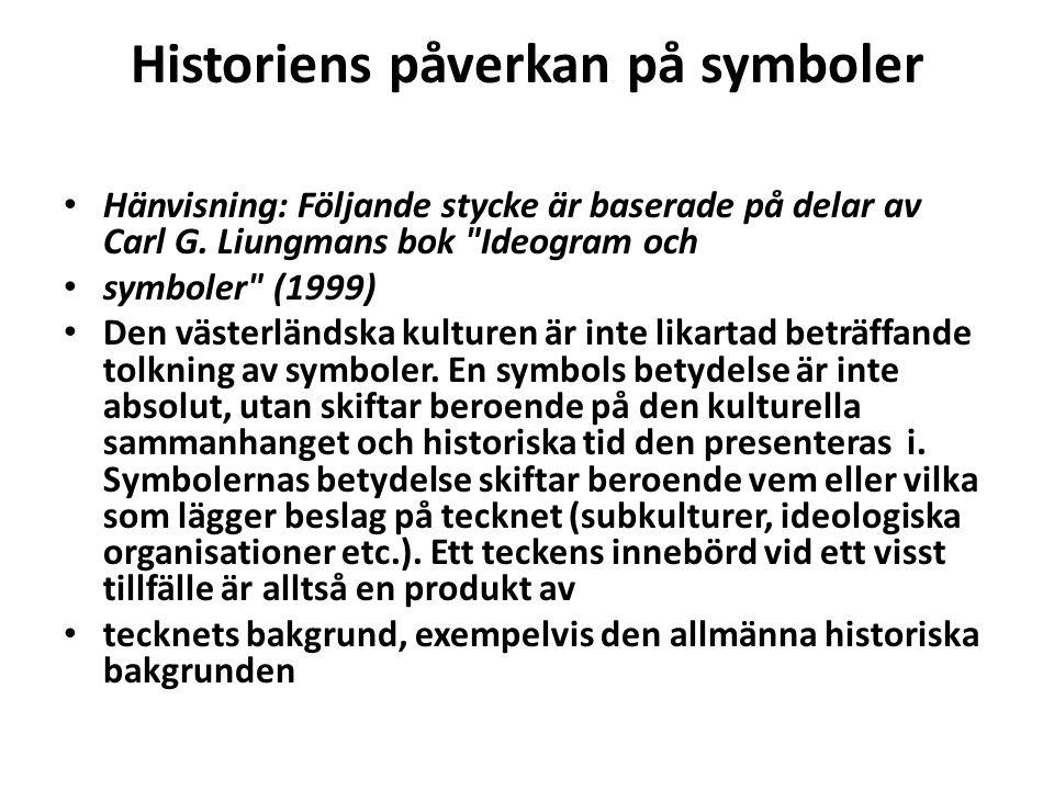 Historiens påverkan på symboler