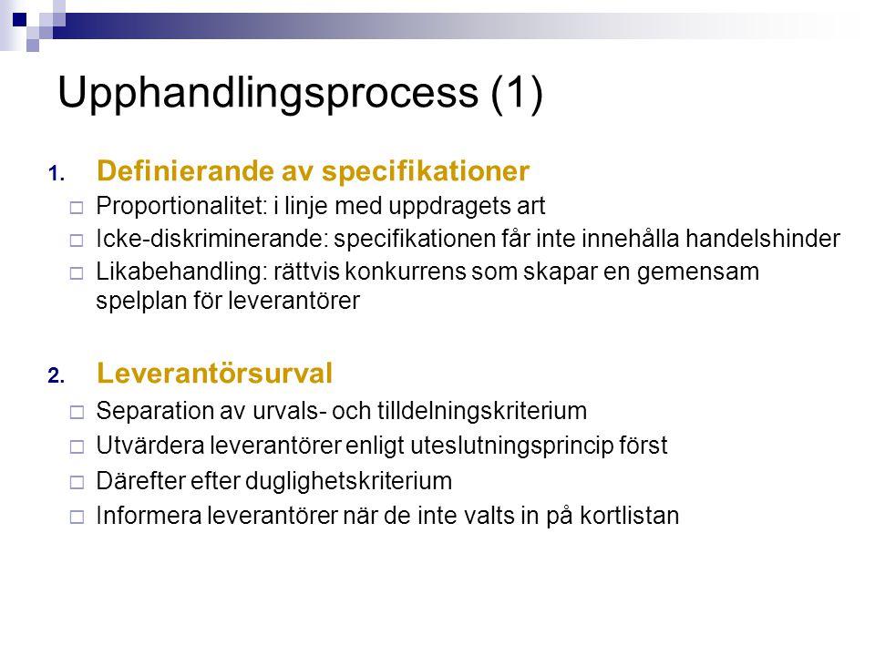 Upphandlingsprocess (1)