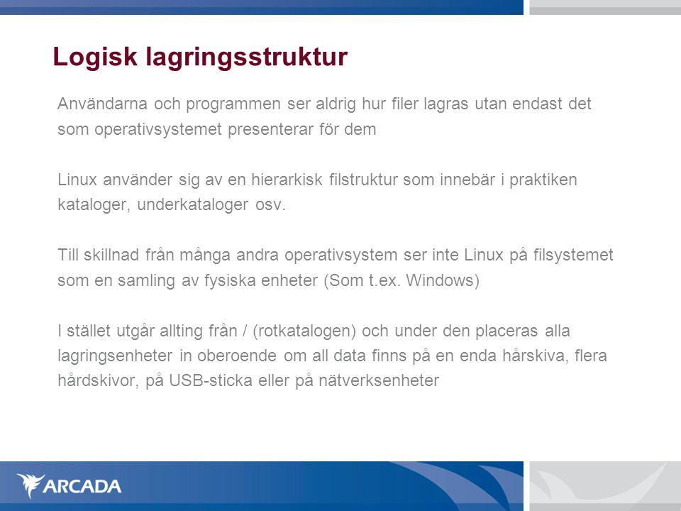 Logisk lagringsstruktur