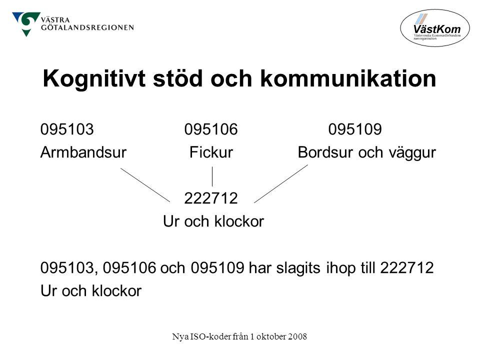 Kognitivt stöd och kommunikation